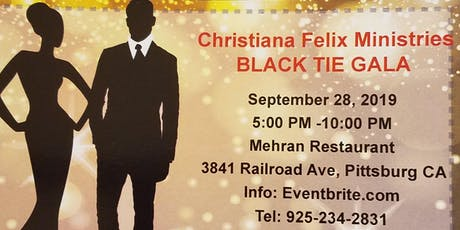 "CFM ""#REFUGE OF HOPE"" BLACK TIE GALA FUNDRAISING tickets"