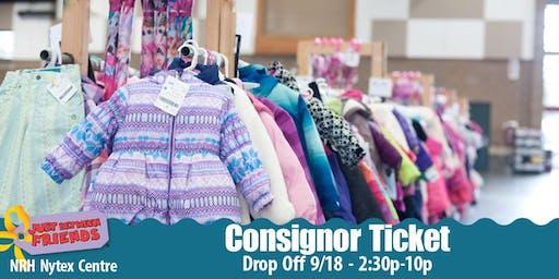 JBF Consignor Ticket l N. Richland Hills