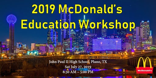 2019 麦当劳教育展 McDonald's Education Workshop