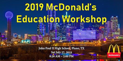 2019 麦当劳教育展 McDonald's Education Workshop
