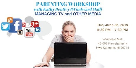 Parenting Workshop with Kathy Bentley (Windward Mall) tickets