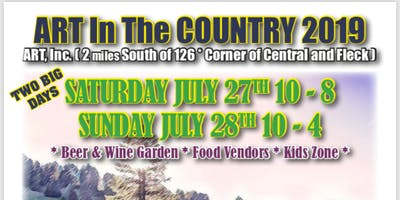ART in the Country 2019: Fine Art and Oregon Author Festival