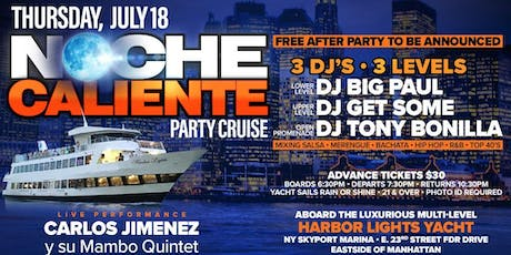 Latin Party Cruise July 18th w/ Jerry Geraldo tickets