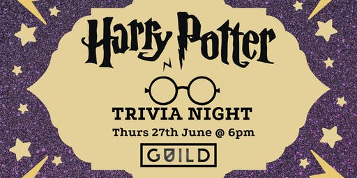 Harry Potter Triva @ GUILD Second Night!