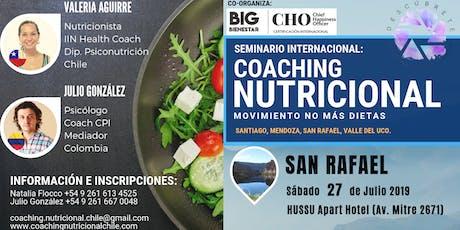 San Rafael, Seminario Taller Coaching Nutricional entradas