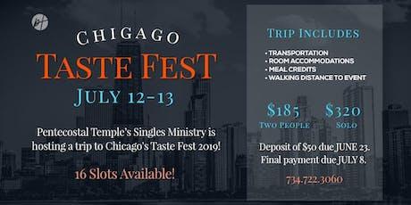 PT Single Ministry - Road Trip Chicago Taste Fest 2019 tickets