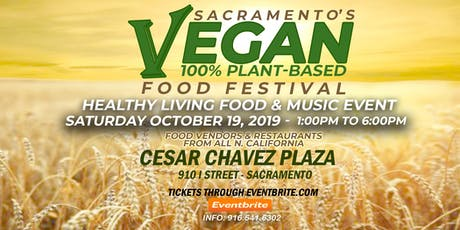 Sacramento's Vegan Food Festival tickets