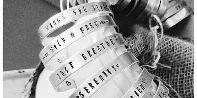 Stamped Bracelet Class