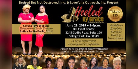 Heeled by Grace Empowerment Series---- ATLANTA tickets