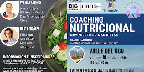 Valle de Uco / Seminario Intensivo: Coaching Nutricional - Movimiento: no más dietas entradas