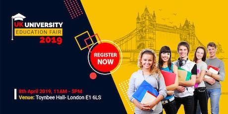 UK University Education Fair tickets