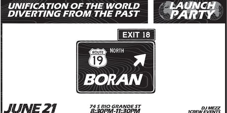 BORAN x UFCLO LAUNCH PARTY EVENT tickets