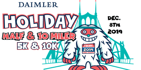 Daimler Holiday Half + 10 Miler + 10K + 5K 2019 tickets