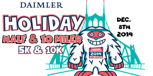 Daimler Holiday Half + 10 Miler + 10K + 5K 2019 (registration is filled for 2019, please see website for final options)