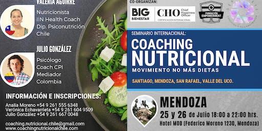 Mendoza / Seminario Intensivo: Coaching Nutricional - Movimiento: no más dietas
