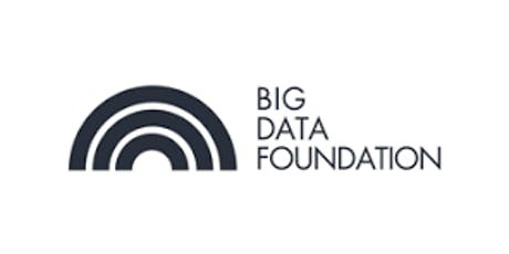CCC-Big Data Foundation 2 Days Virtual Live Training  tickets