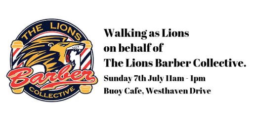 Walking as Lions on behalf of The Lions Barber Collective