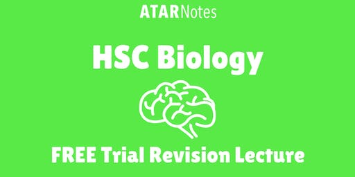 [Sold Out] Biology - FREE Trial Revision Lecture