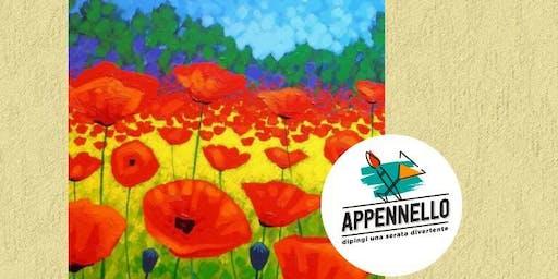 Papaveri, poppies: aperitivo Appennello a Milano Marittima (RA)