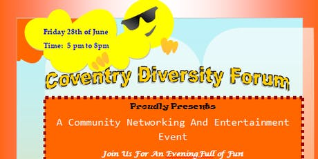 A Community Networking And Entertainment Event tickets