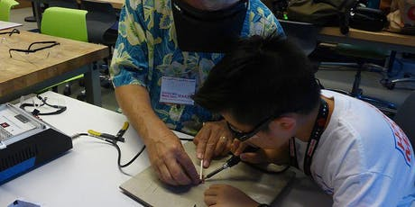 Soldering Class at the 2019 Mini Maker Faire Honolulu tickets
