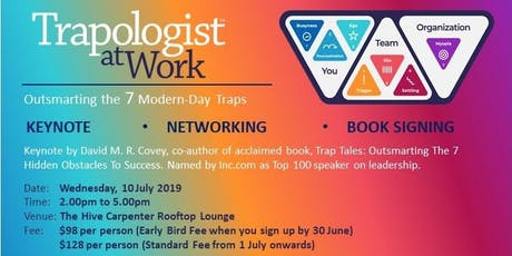 TRAPOLOGIST AT WORK by David M. R. Covey tickets