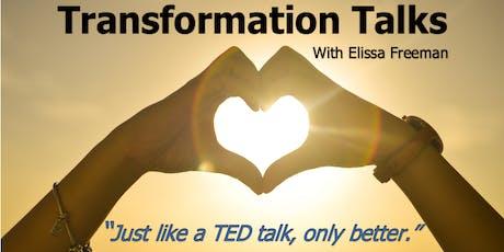 Transformation Talks (Free Event) Feat. Adrian Pon & Elissa Freeman tickets