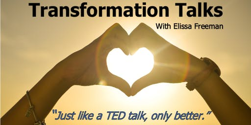 Transformation Talks (Free Event) Feat. Adrian Pon & Elissa Freeman