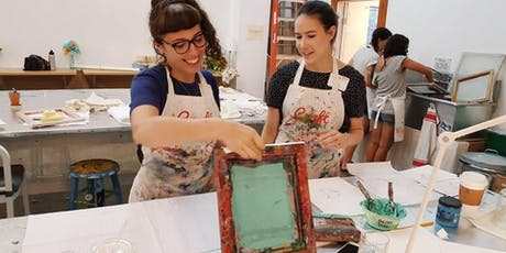 Workshop: DIY Screenprinting tickets