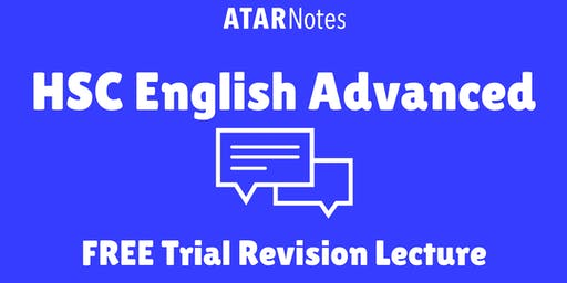 [Sold Out] English Advanced - FREE Trial Revision Lecture