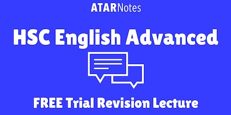 [Sold Out] English Advanced - FREE Trial Revision Lecture (Repeat 1) tickets