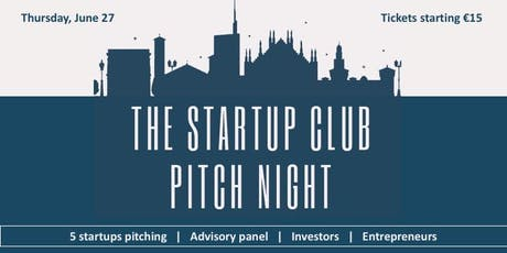 The Startup Club Pitch Night tickets