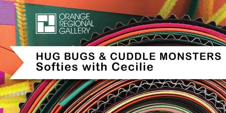 SCHOOL HOLIDAY WORKSHOP - Hug Bugs and Cuddle Monsters with Cecilie tickets
