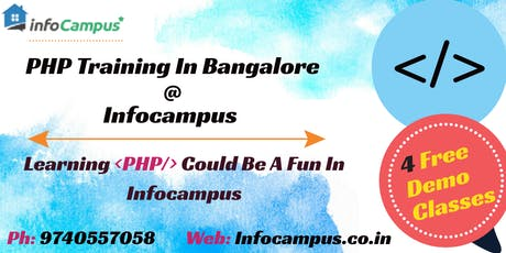 Free PHP Demo Classes In Bangalore tickets