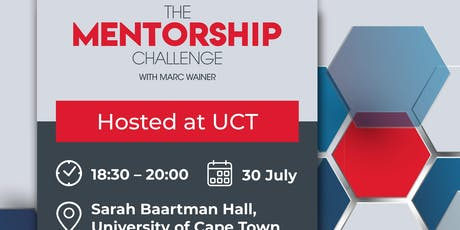 The Mentorship Challenge- Youth In Property Association (YIPA) UCT tickets