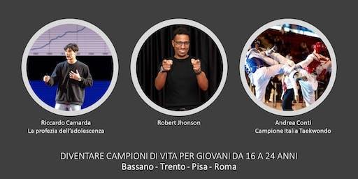 DIVENTARE CAMPIONI DI VITA