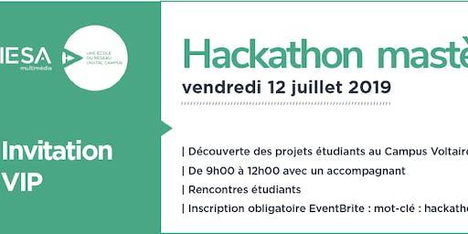 Invitation Hackathon mastères 1