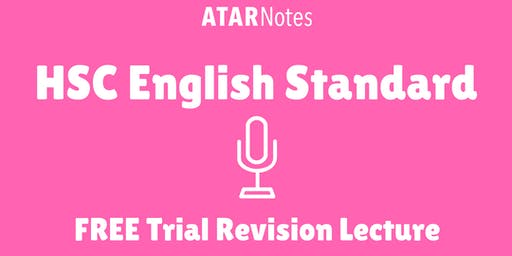 [Sold Out] English Standard - FREE Trial Revision Lecture