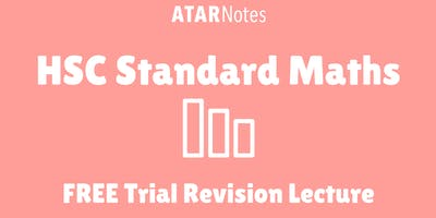 Standard Maths - FREE Trial Revision Lecture (Repeat 1)