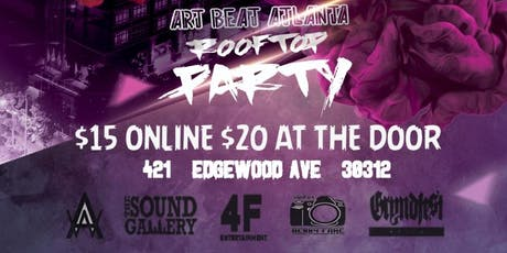 Artbeat rooftop party tickets