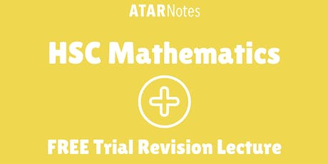 Mathematics - FREE Trial Revision Lecture tickets
