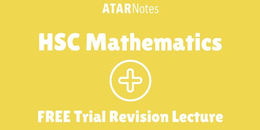 [Sold Out] Mathematics - FREE Trial Revision Lecture (Repeat 2)
