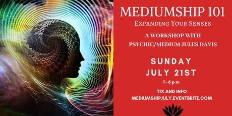 Mediumship 101 - Expanding Your Senses tickets