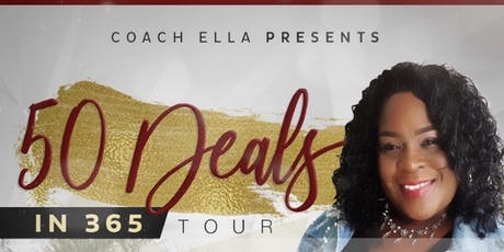 50 Deals in 365 Tour with Coach Ella tickets