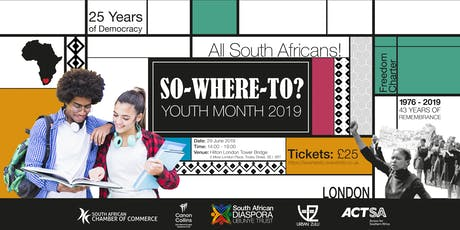 So-Where-To? South African Youth Month 2019 tickets