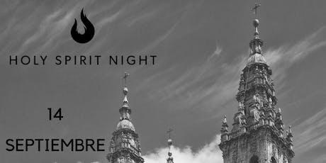 Holy spirit night Santiago de Compostela entradas