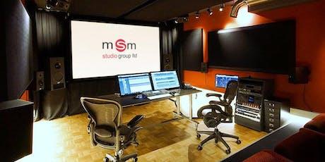 Nuendo 10 World Tour @ MSM studio group, Munich Tickets
