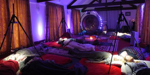 Psychedelic Sleep Over & Gong Bath Experience + healing & Cacao