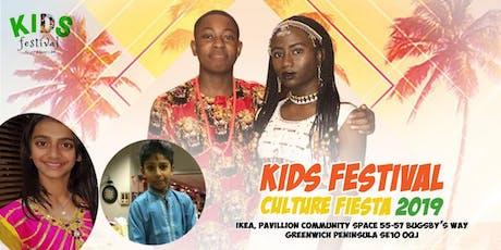 Kids Festival Culture Fiesta 2019 tickets