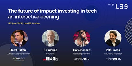 The future of impact investing in tech tickets